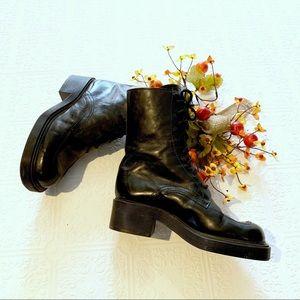 Steve Madden Bombay Combat Style Boots SZ  7.5